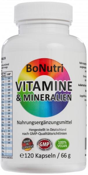Flasche Vitamine & Mineralien