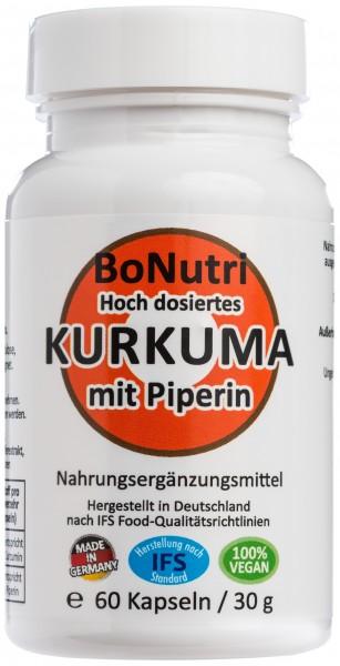 Flasche KURKUMA mit Piperin