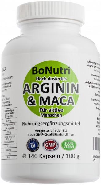 Arginin & Maca Flasche